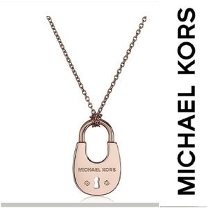 🆕️Michael Kors Padlock Pendant Necklace